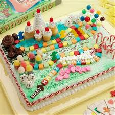 candyland birthday cake candy land cake recipe taste of home