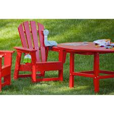 Kids Outdoor Picnic Table Polywood Childrens Kids Adirondack Table Colorful Maintenance