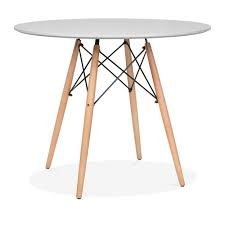 charles eames style light grey dsw table cafe u0026 dining tables