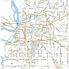 Map Of Tennessee Cities Of Memphis Tennessee