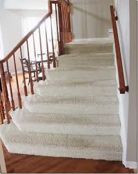 How To Refinish A Wood Banister How To Makeover Your Stairs Tips To Replace Carpet And Install