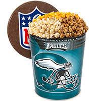nfl popcorn tins by gourmetgiftbaskets