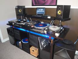 Music Studio Desk Ikea by Image Result For Build Your Own Dj Booth Dj Booth U0026 Stuff
