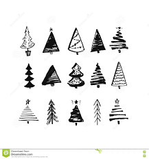 drawn fir tree christmastree pencil and in color drawn fir tree