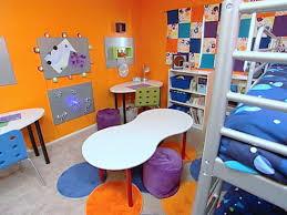 Bedroom Design On A Dime Multipurpose Makeover For Siblings U0027 Bedroom Hgtv