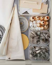 baking supply organization martha u0027s 50 top kitchen tips martha stewart