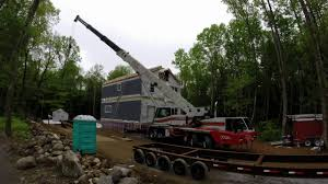 New England Homes by Modular Home Assembly Time Lapse Southern New England Homes