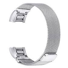 steel bracelet strap images Bayite for fitbit charge 2 bands stainless steel milanese loop jpg