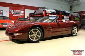 2003 50th anniversary corvette 2003 chevrolet corvette 50th anniversary edition convertible stock