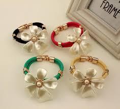 flower girl charm bracelet europe and america style charm bracelets resort