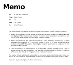 11 email memo templates u2013 free sample example format download