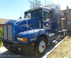 used t600 kenworth 2001 kenworth t600 semi truck item da0587 sold april 6