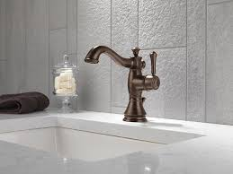 Delta Bronze Bathroom Faucet by Delta Faucet 597lf Rbmpu Cassidy Single Hole Single Handle 4 Inch