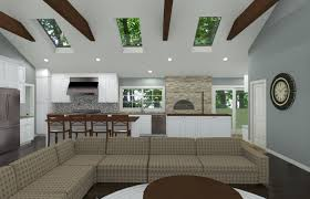 Kitchen Cad Design Open And Vaulted Kitchen In Colts Neck Nj Design Build Pros