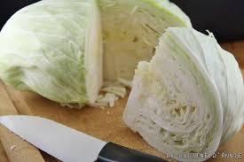 cuisiner du choux blanc recette salade au chou blanc la cuisine familiale un plat une