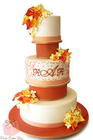 6 tier wedding cake fall wedding cakes