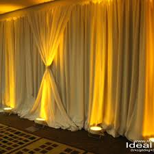 wedding drapery ideal media dj uplighting drape photobooth party wedding