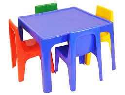 plastic table with chairs kids table chair sets walmart com with and for plans 0