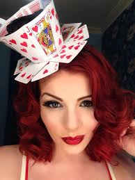 how to make a queen of hearts teacup fascinator from playing cards
