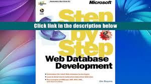 download web database development step by step dv dlt