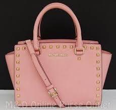 light pink michael kors handbag nwt new michael kors saffiano leather selma medium tz satchel purse