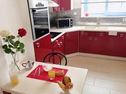 cuisine cerise appartement cerise séjour photo de appart hotel61 flers
