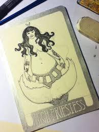 art from the heart mermaid tarot lab rockstar priestess