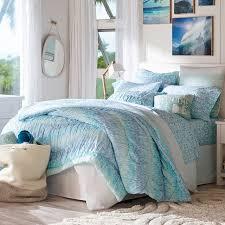 Pb Teen Bedrooms Kelly Slater Organic Trestles Ruched Quilt Sham Pbteen