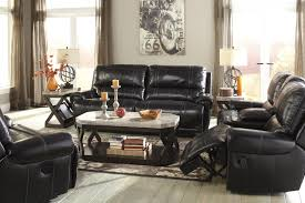 Vintage Living Room Sets by Signature Design By Ashley Palladium Zero Wall Power Wide Recliner