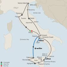 Capri Italy Map by Italy Tours Globus Italy Vacation Packages
