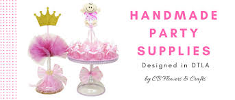 Baby Shower Supplies Store In Los Angeles Cb Flowers And Crafts