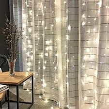 amazon com le led window curtain icicle lights 306 led string