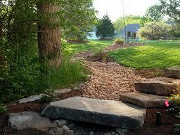 drainage solutions st louis poynter landscape