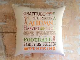 autumn pillow fall football thanksgiving fall decor autumn