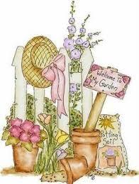 marten clipart flower garden pencil and in color marten clipart