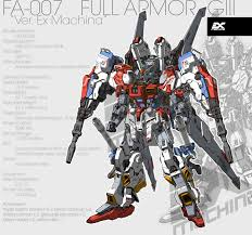 gundam guy ex machina fa 007 full armor g iii ver ex machina