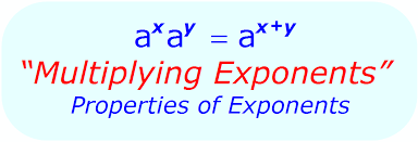 multiplying exponents the math