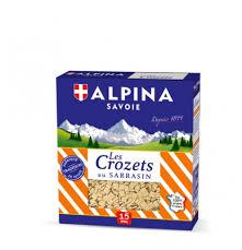 cuisiner les crozets de savoie crozets au sarrasin alpina savoie