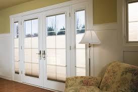 patio doors single patio doors with built in blinds door