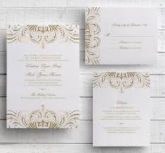 gatsby wedding invitations blush pink and gold invitations diy wedding invitation suite