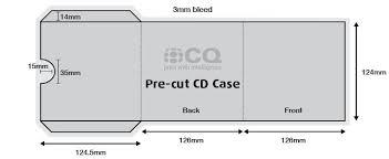 cd case template peerpex