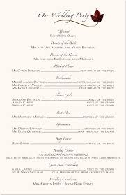 christian wedding program the 25 best wedding program exles ideas on wedding