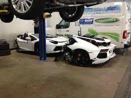 crashed lamborghini huracan wrecked lamborghini aventador for sale at 125 000 gtspirit
