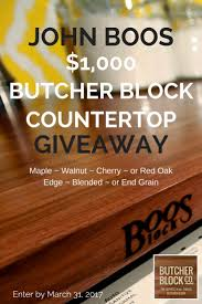9 best exclusive giveaway from butcher block co images on pinterest enter to win this exclusive butcherblockco giveaway a 1 000 butcherblock