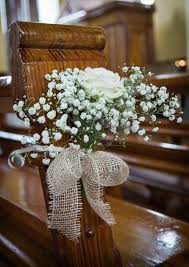 church pew decorations best 25 church pew wedding ideas on florist supplies