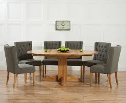 Round Extending Oak Dining Table And Chairs Extending Oak Dining Table Sets Great Furniture Trading Company