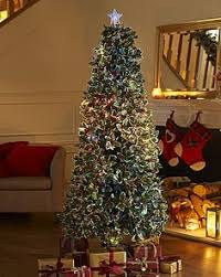 Fibre Optic Slim Christmas Trees - blossom tree lighted trees and branches pinterest trees
