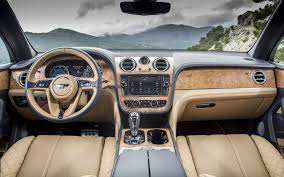 bentley bentayga interior clock bentley bentayga base 2017 suv drive