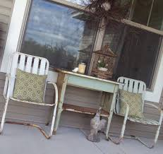 Motel Chairs Cottage Elements Clean Up That Yard With A Little Junk