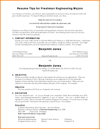 Example Of Area Of Interest In Resume by Freshman Resume Computer Science